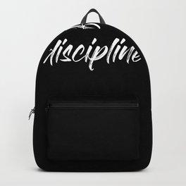 Discipline=Freedom Backpack