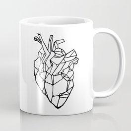 Polyhedron Heart Coffee Mug