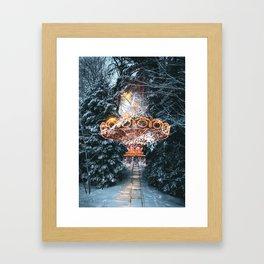 I just ride Framed Art Print