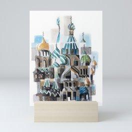 Blodskyrkan/Church of the savior on blood Mini Art Print
