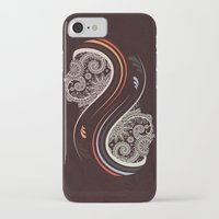 infinity iPhone & iPod Cases featuring Infinity by Sedef Uzer