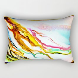 Color by the Sea Rectangular Pillow