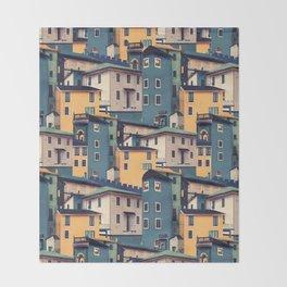 Night Castles (Pattern) Throw Blanket