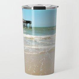 Turquoise Pier Travel Mug