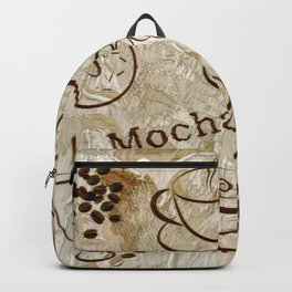 Grunge Coffee Background - 04 Backpack