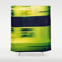 subway Shower Curtains featuring Paris Subway by Ibbanez