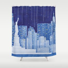 New York, Statue of Liberty Shower Curtain