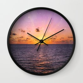 In the Presence of Splendor Wall Clock