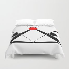 cryptographic 7 Duvet Cover