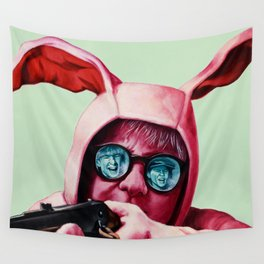 I'll shoot your eyes out Wall Tapestry