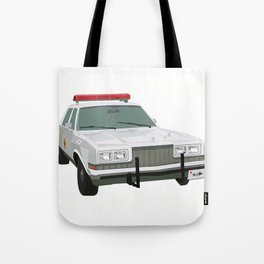 Henry's Sheriff Car Tote Bag