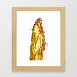 Life of Christ 'Judas Betrayal' figure interpretation Framed Art Print