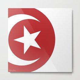 tunisia Metal Print