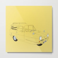 Only Fools and Horses Robin Reliant Metal Print