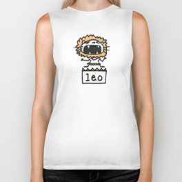 Rawwrrrr! says the Leo. Biker Tank