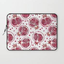Pomegranate watercolor and ink pattern Laptop Sleeve