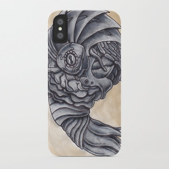 Neptune Octopus iPhone Case