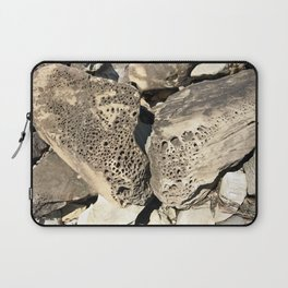 Stone Lace Wings Rock Boulder Washington Northwest Geology Geologist Sandstone Chuckanut Formation Laptop Sleeve