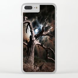 In Dead of Night Clear iPhone Case