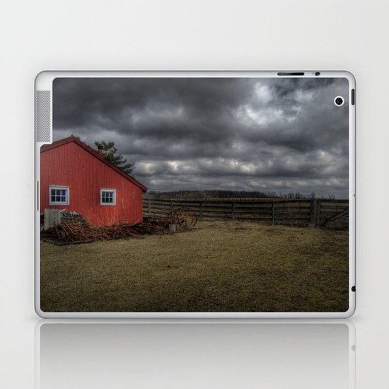 The coming storm front Laptop & iPad Skin