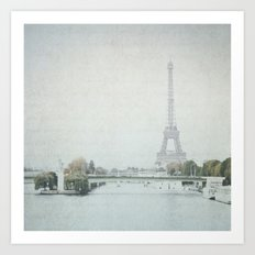 Letters From Liberté - Paris Art Print
