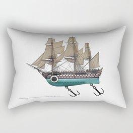 To catch a sea monster Rectangular Pillow