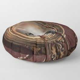 Brooke Figer - Reflection on Perception Floor Pillow