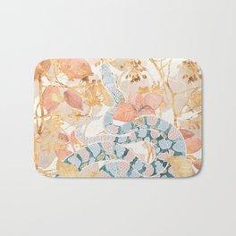 Coral Spring Garden Bath Mat