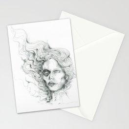 Wisp Skull Stationery Cards