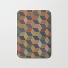 Color Cubes Bath Mat