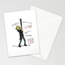 We are Burns Stationery Cards