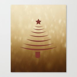 X-mas Tree Canvas Print
