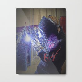 From light comes beauty Metal Print