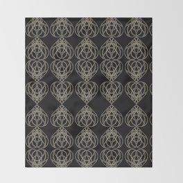 The Tower Mandala_Pattern 2 Throw Blanket