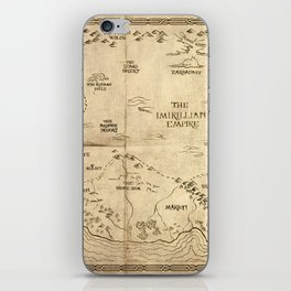 Map of Imirillia iPhone Skin