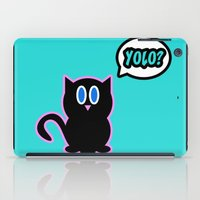 yolo iPad Cases featuring Yolo? by Marvin Porcher
