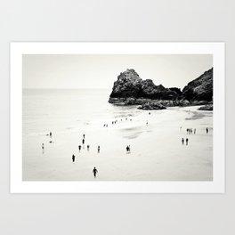 Cornwall beach life Kunstdrucke