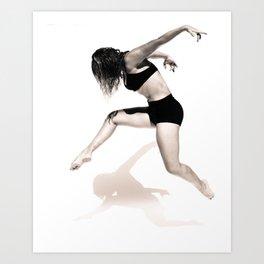 Laura - Dancer Series 1 Art Print
