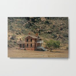 The House at Fort Davis National Historic Site Metal Print