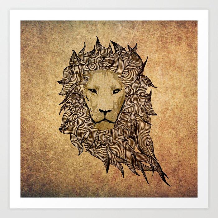 Lionn Art Print