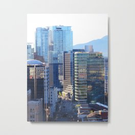 Glass Towers Metal Print