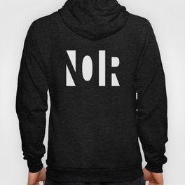 Simple Noir Hoody