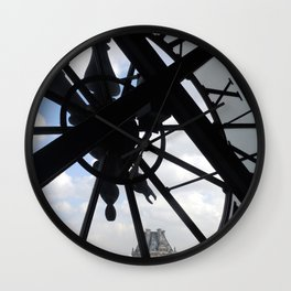 Clock in the Musee d'Orsay Wall Clock