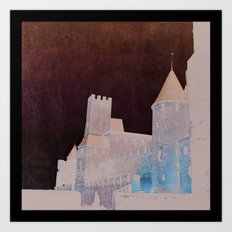 Sublime Carcassone Art Print