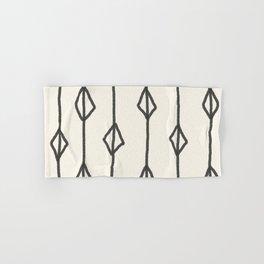 Hand-drawn diamond pattern Hand & Bath Towel