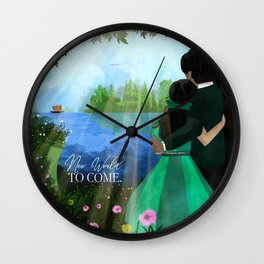 Jw Couple in Paradise Wall Clock