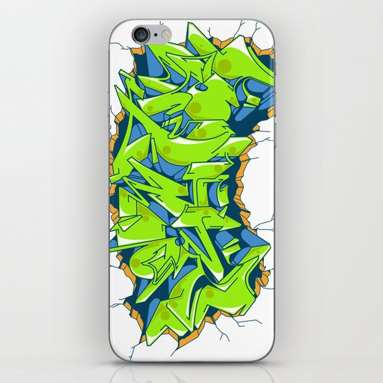 Vecta Wall Smash iPhone & iPod Skin