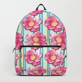 Tumbling Camellias Backpack