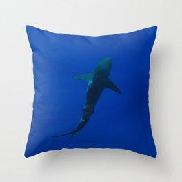 Hawaiian Shark IV Throw Pillow