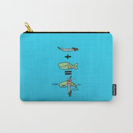 Green Sword Fish Carry-All Pouch